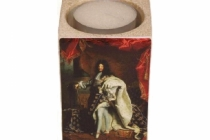 Bougeoir Louis XIV en costume de sacre