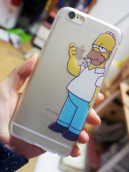 coque iphone simpson