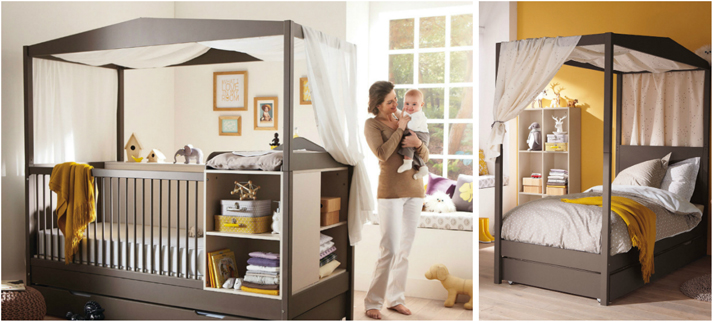 les 5 crit res indispensables pour choisir le lit volutif de son b b. Black Bedroom Furniture Sets. Home Design Ideas