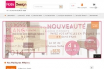 Code de réduction REDUC5  5 % de réduction sur rotin-design.com